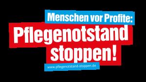 Kampagne DER LINKEN gegen Pflegenotstand